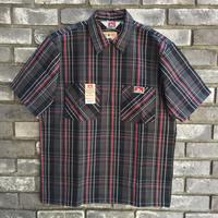 【BEN DAVIS】Half Zip Check Shirts  ベンデイビス ハーフジップ チェックシャツ