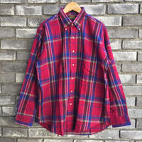 【CLEVE】 Dead Stock Flannel Shirt クリーヴ フランネルシャツ デッドストック  A