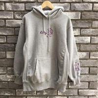 【LILY × nifunifa】 Hand Embroidery Hoodie  Gray