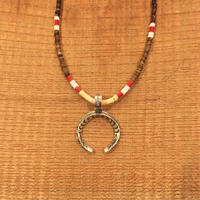 【ERICKA NICHOLAS BEGAY】タイプD 2.5TASNJ3.7 pendant top w beads necklaces