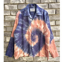 【NOMA t.d.】Tie Dye LS Shirt ノーマ タイダイ シャツ