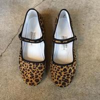 【PANDAMERICA】 VELVET MARYJANE  leopard レオパード