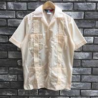 【D'Accord】 Embroidered Guayabera shirts