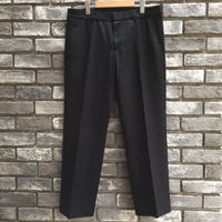 【CEASTERS】 Straght Trousers Black ケステル ストレート トラウザーズ