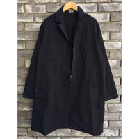 【SNV WORKWEAR】 Benoit Cotton Coat Black Dyed コットン コート ブラック