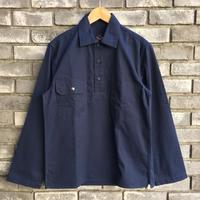 【HAWKWOOD MERCANTILE】Stoker Shirts Jacket Navy ホークウッド メルカンタイル  ベンタイル