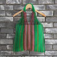 【UNIQUE BATIK】 Hammock Bag Green ハンモック バッグ