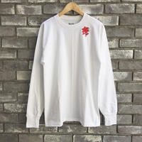 【LILYyoyogiuehara】 Embroidered USA L/S Tee