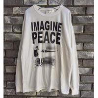 【MUSIC Tee 】John Lennon ジョン・レノン イマジン