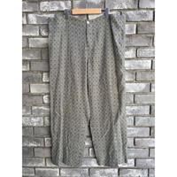 【dahl'ia】 Relux Wide Pants Green ダリア リラックス ワイドパンツ