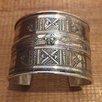 【TUAREG SILVER】 Big bangle