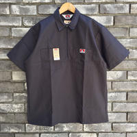 【BEN DAVIS】Half Zip Shirts  Charcoal ベンデイビス ハーフジップ シャツ