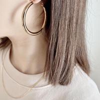 big chunky hoop pierce