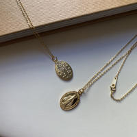 【silver925 】Maria coin necklace (K18plated)