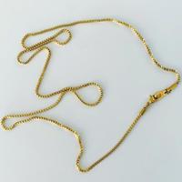SUS316L chain necklace 60 A