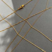 SUS316L extra fine necklace