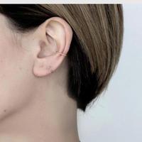 【silver925 】thin earcuff set