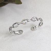 silver925 open bangle