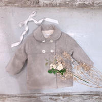 【crochette】コーデュロイ 2つボタンコート(2・4・6才サイズ)