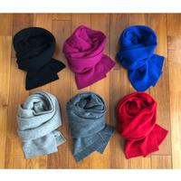 Cashmere Knit Mini Stole