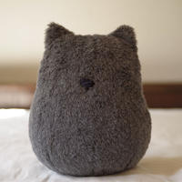 SOFT SCULPTURE-WASHABLE WOOL ALPACA FUR (GREY)