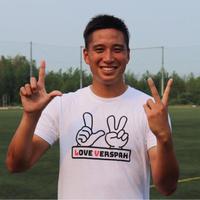 DF 清水選手デザイン!「LOVE VERSPAH」Tシャツ