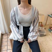ボヘミアンオーバーシャツ/2color_lb0001