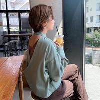 ♢予約販売♢original ユニークスリーブブラウス/カーキ_lt0080