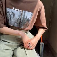 ♢予約販売♢London ennuiプリントT/2color_lt0715