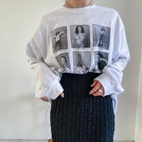 ♢予約販売♢unique fashion girl ロンT/2color_lt0678