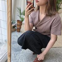2wayハーフシャツ/2color_lb0008