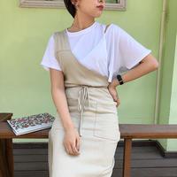 ワンショルラップスカート/2color_ls0011