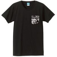 Aloha Pocket T-shirt (Black)*A71