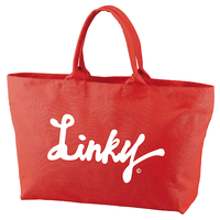 LINKY LOGO Big Toto Bag  (French Red)