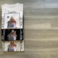 Skull DJ T-shirt*A42-44