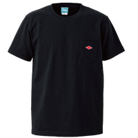 Wappen Pocket T-shirt (Black×Red Wappen) <<WEB STORE限定>>