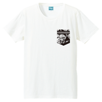 Aloha Pocket T-shirt (White)*A70