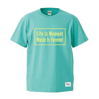 Box logo T-shirt SS19 - mintgreen