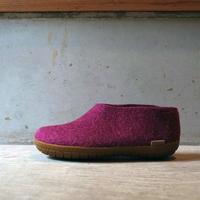 glerups グリオプス Shoe クランベリー(ラバーソール)