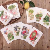 【Koustrup】春の食卓・メッセージカードBOX