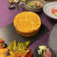 オレンジのアップサイドダウンケーキ動画レッスン