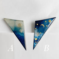 Indigo Earrings【Large】イヤリング