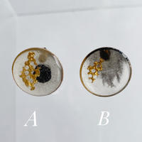 Sumi Studs earrings 【small】ピアス