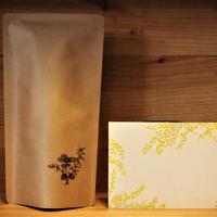 リチル×botaniko press 「珈琲豆+活版印刷絵ハガキ」