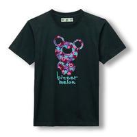 t-shirts(leaf purple×black)
