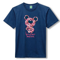 t-shirts007(camoufla pink×navy)