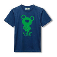 t-shirts(original green×navy)