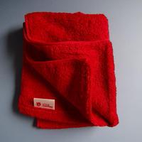 [再入荷] LITTLE SUNSHINE  フェイスタオル 38×95cm ストロベリーレッド