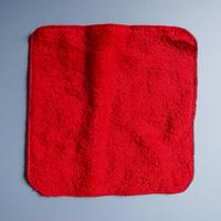 [再入荷] LITTLE SUNSHINE  チーフタオル 23×23cm ストロベリーレッド