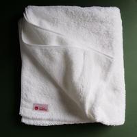 LITTLE SUNSHINE バスタオル 63×130cm スノーホワイト